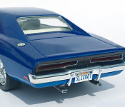 1969 Dodge Charger rear