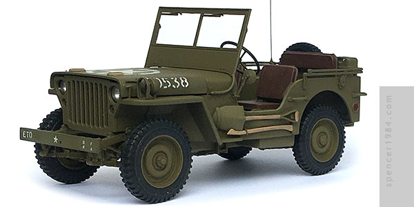 Willys Jeep MP from the movie The Dirty Dozen