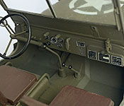 The Dirty Dozen Jeep dashboard