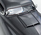Cobra 1950 Mercury hood detail