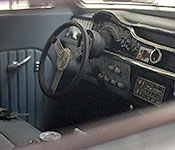 Cobra 1950 Mercury dashboard