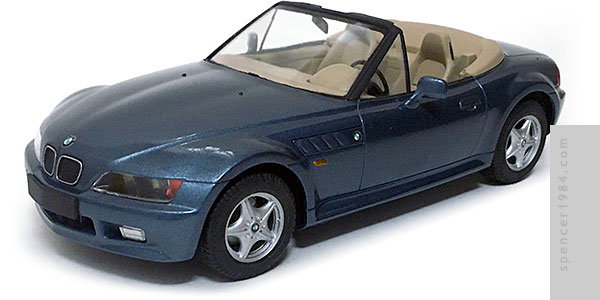 BMW Z3 driven by Pierce Brosnan in Goldeneye