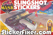 MASK Slingshot Stickers at StickerFixer.com