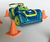 Lukes Toy Company Delux 3-Pack with cones