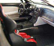 1 Badd Ride Corvette Interior