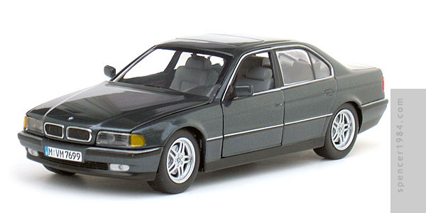 Paul S Model Art Bmw 7 Series 740i Diecast Review