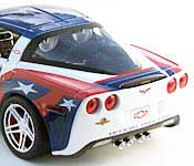 Greenlight Collectibles 2006 Corvette Indianapolis Pace Car Rear Fascia
