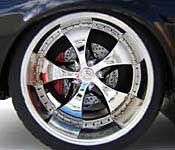 Jada Toys 1972 Pontiac Firebird Trans Am Wheel Detail