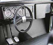 Reel Rides Dazed & Confused 1972 Chevrolet C10 Pickup Dashboard