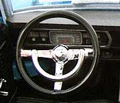 Reel Rides Tommy Boy 1967 Plymouth Belvedere GTX Dashboard
