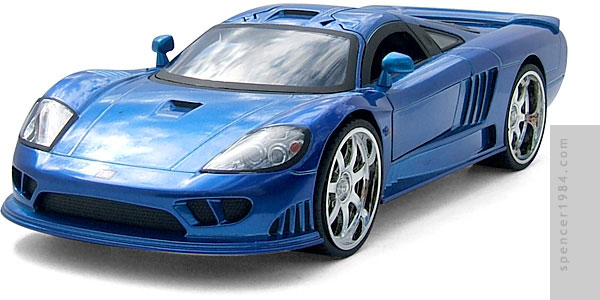 1 Badd Ride 2006 Saleen S7 Diecast Review