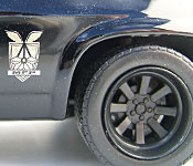 DDA Mad Max 2014 V8 Interceptor side detail