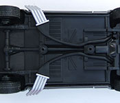 DDA Mad Max 2014 V8 Interceptor chassis