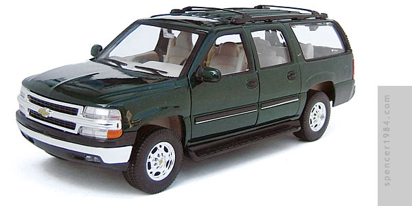 Welly 2001 Chevrolet Suburban