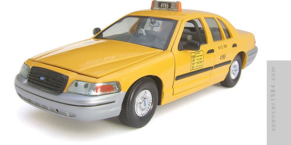 Classic Metal Works 1999 Ford Crown Victoria New York City Taxi