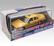 Classic Metal Works 1999 Ford Crown Victoria New York City Taxi Packaging