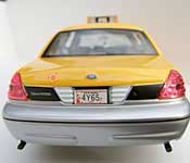 Classic Metal Works 1999 Ford Crown Victoria New York City Taxi Rear