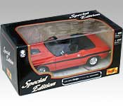 Maisto 1970 Dodge Challenger R/T Convertible Packaging