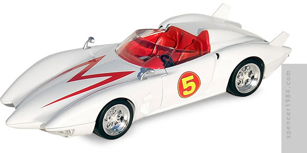 Hot Wheels Speed Racer Mach 5 Diecast Review