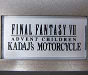 Final Fantasy Mechanical Arts Kadaj's Motorcycle Base