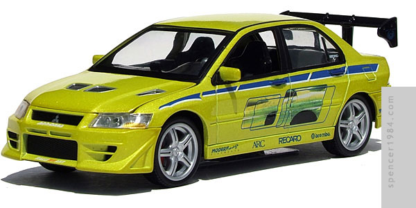 Joy Ride Studios 2 Fast 2 Furious 2002 Mitsubishi Lancer Evolution