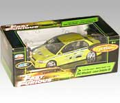Joy Ride Studios 2 Fast 2 Furious 2002 Mitsubishi Lancer Evolution VII Packaging
