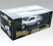 Welly/FuRyu DeLorean Back to the Future 2 Time Machine Packaging