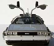 Welly/FuRyu DeLorean Back to the Future 2 Time Machine with Gullwing Doors Open