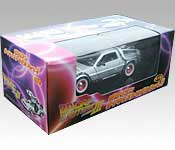 Welly/FuRyu DeLorean Back to the Future 3 Time Machine Packaging