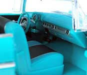 M2 1957 Chevrolet Bel Air Interior