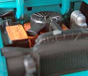M2 1957 Chevrolet Bel Air Engine