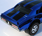 Hot Wheels Heavy Chevy Custom Mustang rear