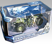 Jada Halo 4 Warthog Packaging