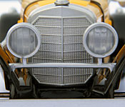 Banpresto Lupin the 3rd Mercedes-Benz SSK grille detail