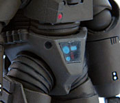 Starship Troopers Powered Suit Hull Detail