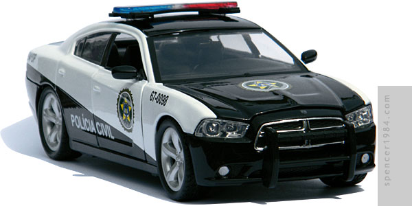 Greenlight Collectibles Fast Five 2011 Dodge Charger Pursuit