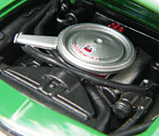 Greenlight Collectibles Bewitched 1969 Camaro engine