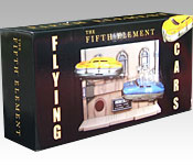 The Fifth Element Taxi packaging