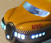 The Fifth Element Taxi lights on