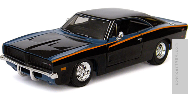 Maisto Need for Speed: Underground 1969 Dodge Charger R/T