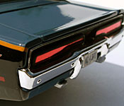 Maisto Need for Speed: Underground 1969 Dodge Charger R/T rear