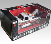 Maisto Sons of Anarchy Teller-Morrow Tow Truck packaging