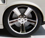 NKOK Furious 6 '69 Ford Mustang wheel detail