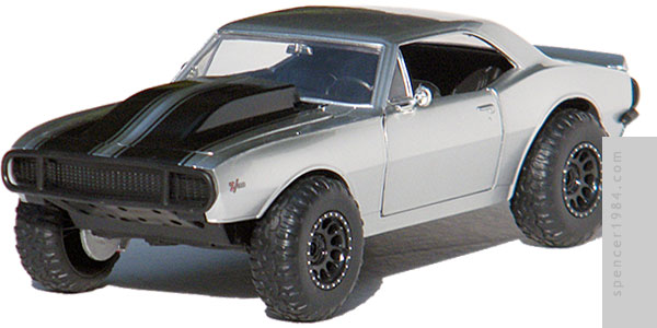 Jada Toys Furious 7 Off-Road Camaro