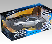 Jada Toys Furious 7 Off-Road Camaro packaging