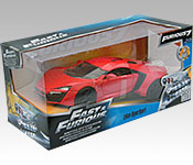 Jada Toys Furious 7 Lykan HyperSport packaging