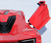 Jada Toys Furious 7 Lykan HyperSport door open