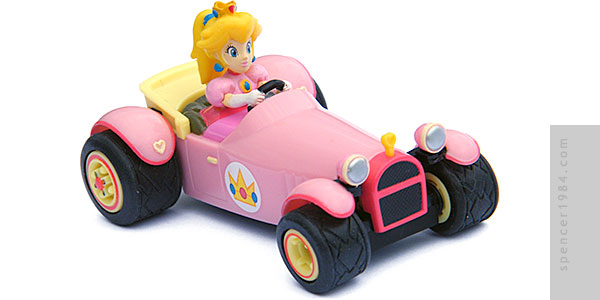 Air Hogs Mario Kart Peach Royale