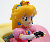 Mario Kart Peach Royale side detail