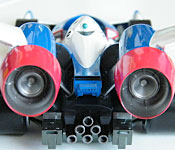 Mega House Future GPX Cyber Formula Super Asurada 01 rear